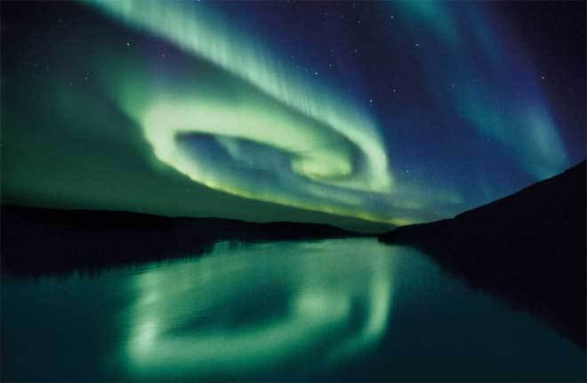 Northern Lights by Fritz Mueller (Creative commons)