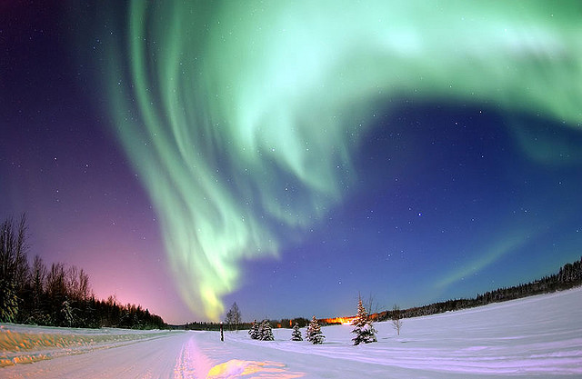 Northern Lights by Senior Airman Joshua Strang via Flickr (creative commons)