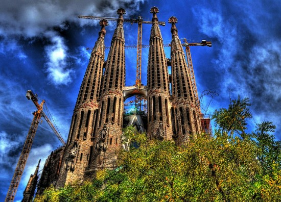 Sagrada Familia by Flickr user sweis78 (creative commons)