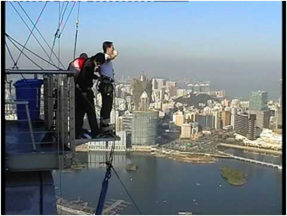 Bungee jumping, Macau (creative commons)