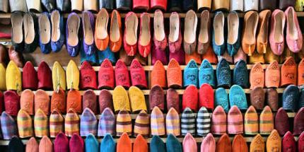 large-shoes Fes Market by Protographer23 Creative Commons