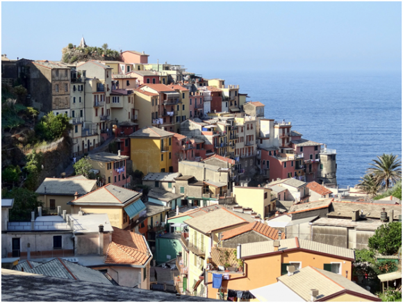 Manarola, Italy ( creative commons)