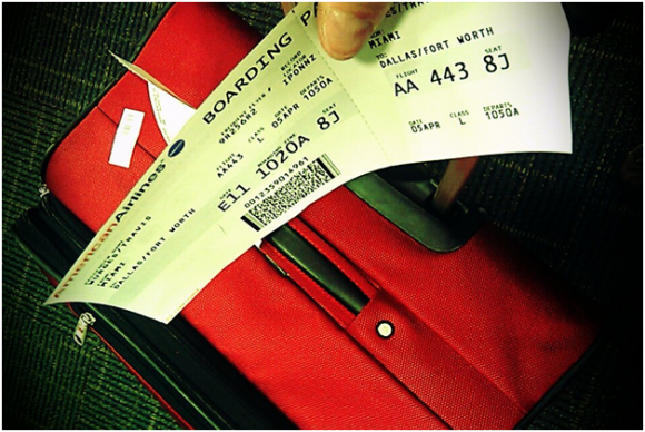 Travel ticket ( creative commons)