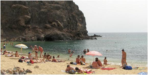 Lanzarote, Papagayo Beach (creative commons)
